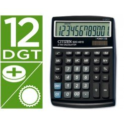 Calculadora Sobremesa Citizen SDC-4310 12 digitos