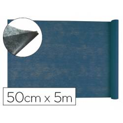 Entretela Liderpapel 25g/m2 en rollo de 5m Azul marino