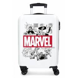 Maleta de cabina rígida Comic Marvel 55x38x20cm ABS