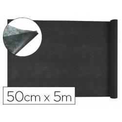 Entretela Liderpapel 25 g/m2 Rollo de 5m color Negro
