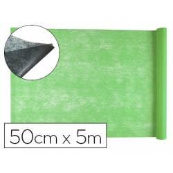 Entretela Liderpapel 25g/m2 rollo de 5m Verde
