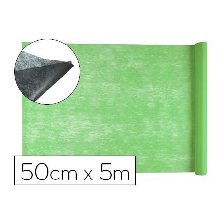 Entretela Liderpapel 25g/m2 rollo de 5m color Verde