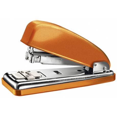 Grapadora Petrus 226 Classic wow Naranja metalizado Capacidad 30 hojas