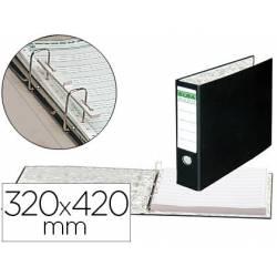 Carpeta papel continuo carton forrado Elba 320x420 mm Lomo de 80 mm