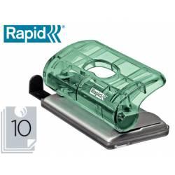 Taladrador Rapid Colour Ice FC5 Capacidad de 10 hojas Amarillo