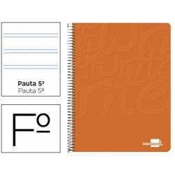 Bloc Liderpapel Folio Write Pauta 2,5 mm Naranja