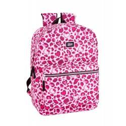 "Mochila para portatil 15,6"" Hello Kitty Poliester Leopard"