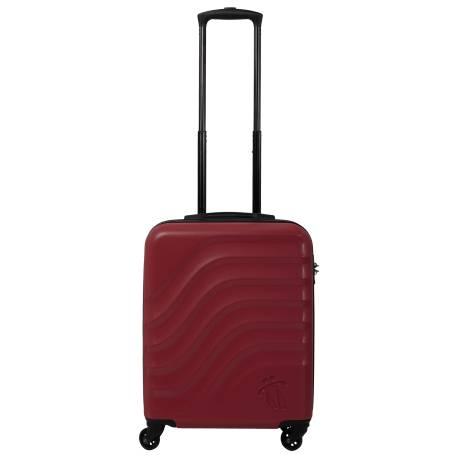 Maleta trolley cabina rojo/negro - Bazy Totto 55x34x20.00cm