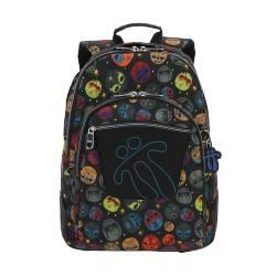 Mochila escolar - Crayola Marca Totto 44x33x13.50cm Peso: 0.7 Kg.