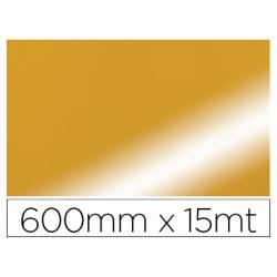 PAPEL FANTASIA COLIBRI DOBLE METALIZADO ORO BOBINA 600 MM X 15 MT