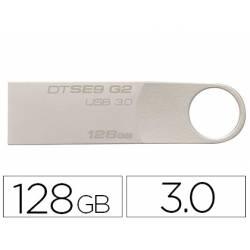 MEMORIA KINGSTON DATA TRAVELER SE9 G2 128 GB USB 3.0