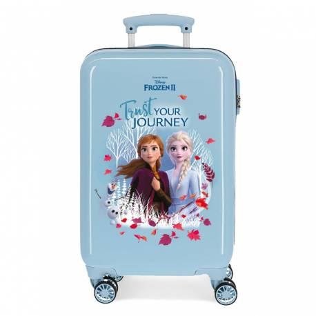 Maleta de cabina Trust your journey rígida 55cm (2541461). Frozen. 2,5 kg