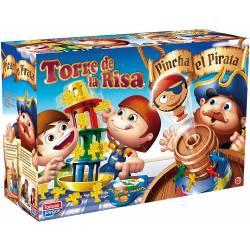 Juego de mesa Torre de la risa + Pinchapirata Falomir Juegos