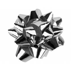 Lazos fantasia Liderpapel Medianos Plata metalizado