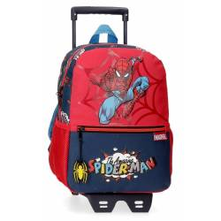 Mochila Spiderman Pop 32cm con Carro (20722T1)