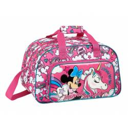 MOCHILA ESCOLAR MINNIE MOUSE UNICORNS BOLSA DEPORTE 400X230X240 MM