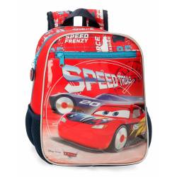 Mochila Infantil Cars Speed Trails 28cm (4032121)