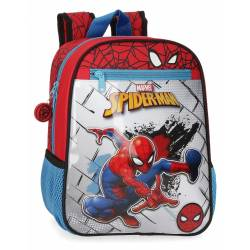 Mochila 28cm adaptable a carro Spiderman Red (40421D1)