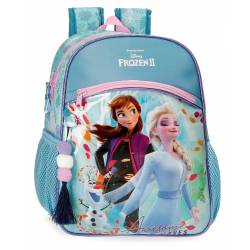 Mochila Frozen Awesome Moves 33cm Adaptable (40522D1)