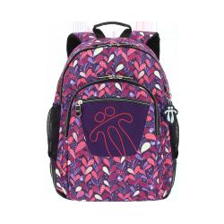 Mochila escolar - Crayoles - Niña Totto 44.00x33.00x13.50cm multicolor