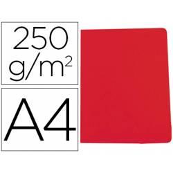 Subcarpeta Gio DIN A4 250 gr Cartulina Rojo