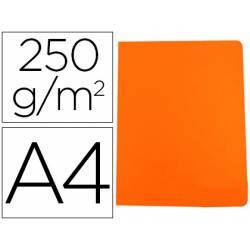 Subcarpeta Gio DIN A4 250 gr Cartulina Naranja