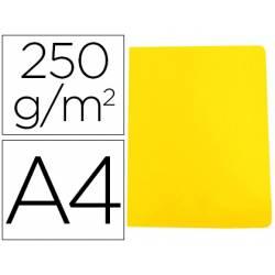 Subcarpeta Gio DIN A4 250 gr Cartulina Amarillo