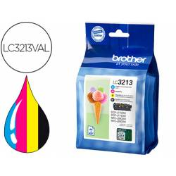 Cartucho Brother LC3213 4 colores LC3213VAL