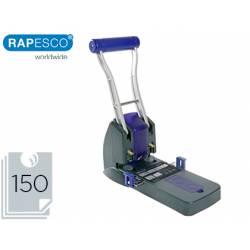 Taladrador Rapesco p2200 negro y morado capacidad 150 hojas