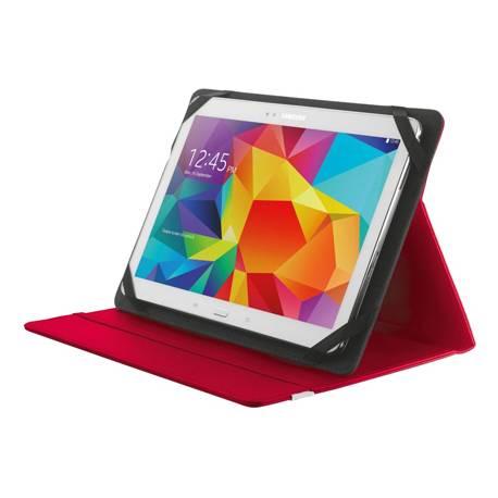 "Funda Trust Primo Tamaño folio Universal para tablets 7-8"" color Rojo"