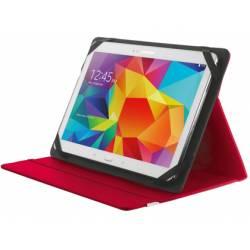 "Funda Trust Primo Tamaño folio Universal para tablets 10"" color Rojo"