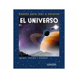 Libro El universo cuento para leer a oscuras ANAYA