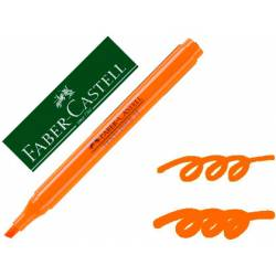 Rotulador Faber fluorescente Textliner 38 naranja