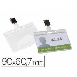 Identificadores Q-Connect Pinza Metálica 9X6,7 Brillante