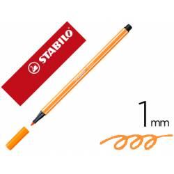 Rotulador Stabilo 68/88 1 mm Ocre