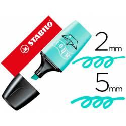 Rotulador Stabilo Boss Mini Pastellove Toque de Turquesa