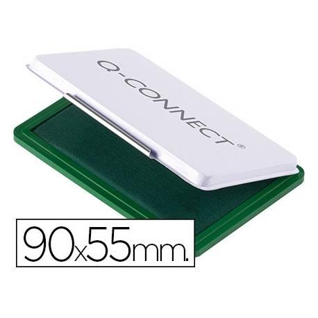 Tampon Q-Connect Nº 3 Verde 90x55mm