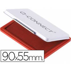 Tampon Q-Connect Nº 3 Rojo 90x55mm