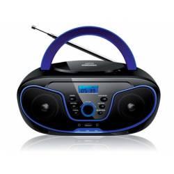 Radio Reproductor Daewoo 30,3x20,5x14,3 cm CD y MP3 con USB