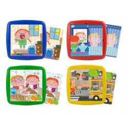 Puzzle Habitos diarios a partir de 3 años 25 piezas marca Miniland