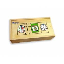 Puzzle Secuencias Temporales 30 piezas a partir de 3 años marca Andreutoys