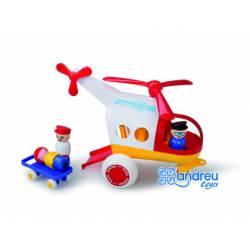 Juego Infantil a partir de 2 años Helicoptero marca Vikingtoys