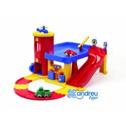Juego para bebes a partir de 1 año Garaje Dos pisos marca Vikingtoys