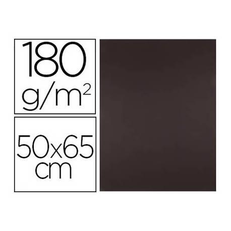 Cartulina Liderpapel Marron 50x65 cm 180 gr 25 unidades
