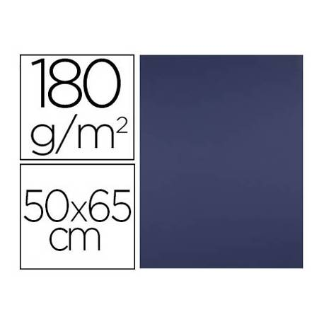Cartulina Liderpapel Zafiro 50x65 cm 180 gr