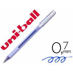 Bolígrafo Roller Uni-Ball JETSTREAM SX-101 Lavanda tinta gel azul 0,35 mm