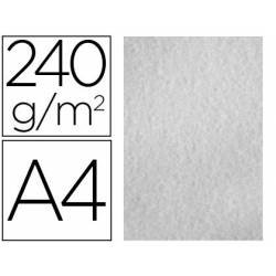 Papel Pergamino Liderpapel DIN A4 240g/m2 Gris Pack de 25 Hojas