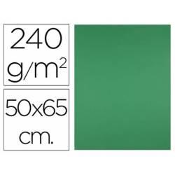 Cartulina Liderpapel Verde Navidad 50x65 cm 240 gr Paquete 25 unidades