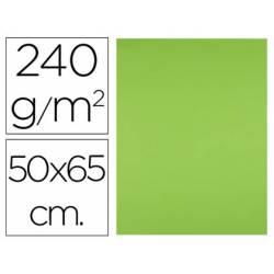 Cartulina Liderpapel Verde hierba 50x65 cm 240 gr Paquete 25 unidades