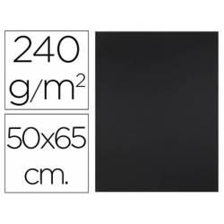 Cartulina Liderpapel Negra 50x65 cm 240 gr Paquete 25 unidades